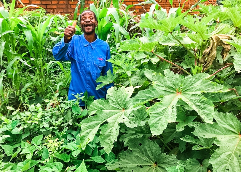 Foster defied his and other people's pessimism for months about the impact that having a victory garden could have — and now he's helping his fellow villagers create their own gardens.